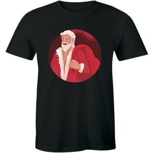 Santa Claus Has Right Idea Visit people T-shirt